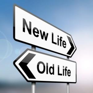 new life old life choice